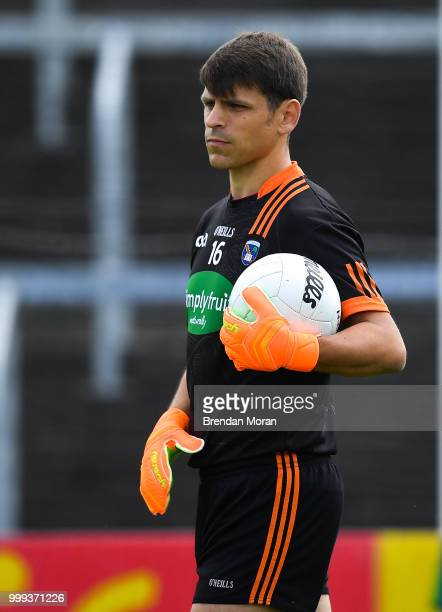 Laois Ireland 7 July 2018 Patrick Morrison of Armagh during the GAA Football AllIreland Senior Championship Round 4 match between Roscommon and...