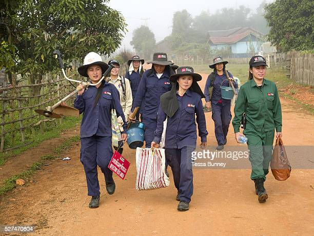 Laos is the most bombed country per capita in the world with more than 270 million cluster bomb submunitions dropped on it during the Vietnam War...