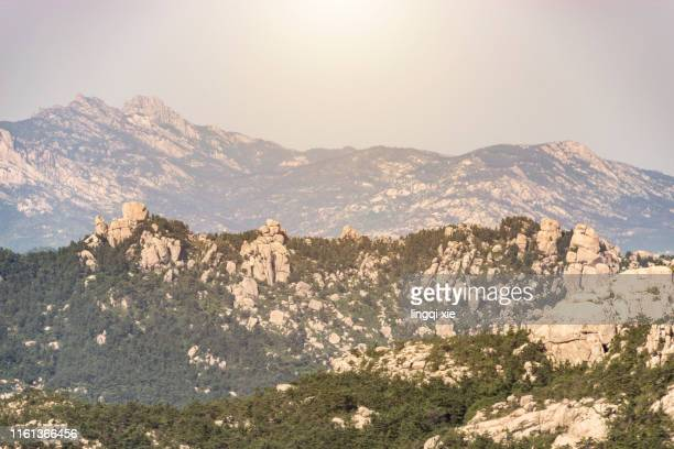 laoshan natural scenery in qingdao city, shandong province, china - qingdao beach stock pictures, royalty-free photos & images