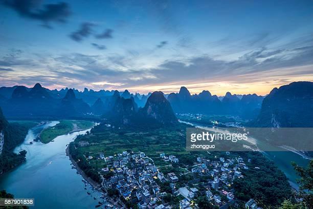 laozai hill, Guilin China