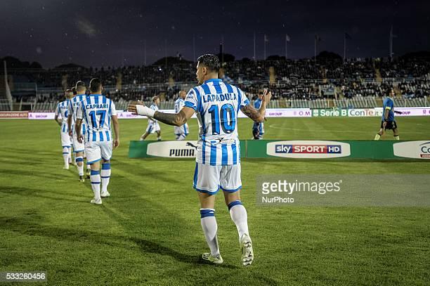 Lapadula Gianluca during the Serie B match between Pescara vs Latina on May 20 2016