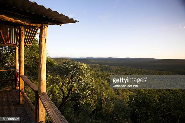 lapalala wilderness from hut - limpopo province stock pictures, royalty-free photos & images