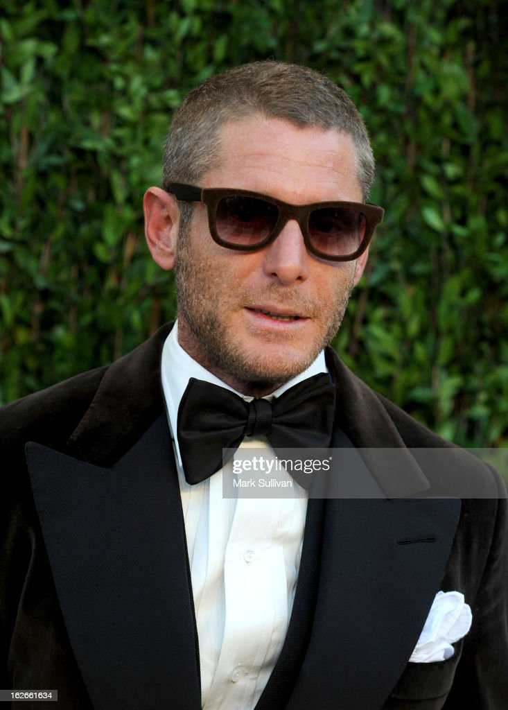 Lapo Elkann arrives at the 2013 Vanity Fair Oscar Party at Sunset Tower on February 24, 2013 in West Hollywood, California.