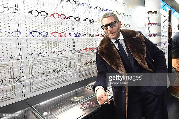 Lapo Elkann attends boutique opening at Italia-Independent Boutique during Mercedes-Benz Fashion Week Fall 2015 on February 16, 2015 in New York City.