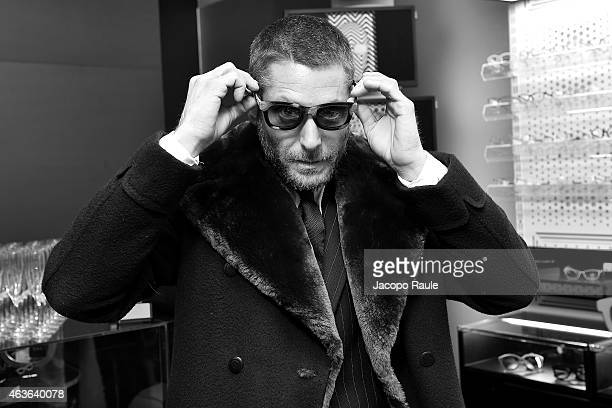 Lapo Elkann attends boutique opening at ItaliaIndependent Boutique during MercedesBenz Fashion Week Fall 2015 on February 16 2015 in New York City