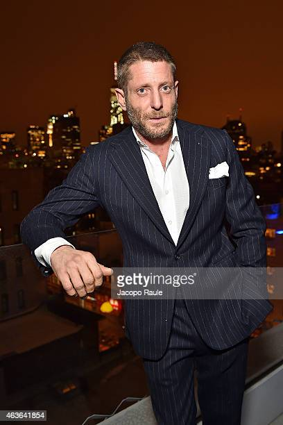 Lapo Elkann attends Italia-Independent Boutique Opening After Party at the Sky Room at the New Museum on February 16, 2015 in New York City.