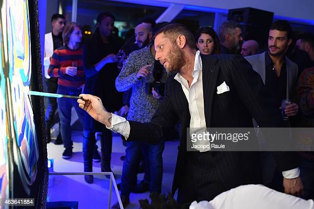 Lapo Elkann attends ItaliaIndependent Boutique Opening After Party at the Sky Room at the New Museum on February 16 2015 in New York City