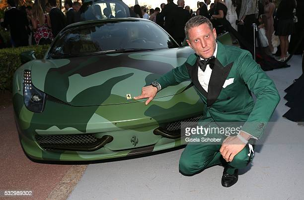 Lapo Elkann attends the amfAR's 23rd Cinema Against AIDS Gala at Hotel du CapEdenRoc on May 19 2016 in Cap d'Antibes France