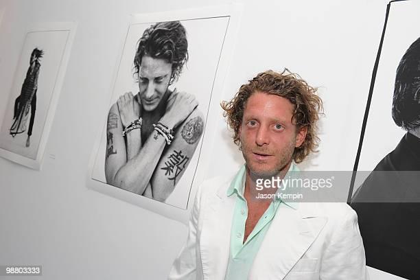 Lapo Elkann attends the Francesco Carrozzini photo exhibition at Diane Von Furstenberg Gallery on May 2 2010 in New York City