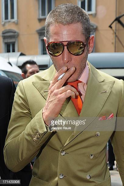 Lapo Elkann attends the Gucci show during Milan Menswear Fashion Week Spring Summer 2014 show on June 24, 2013 in Milan, Italy.