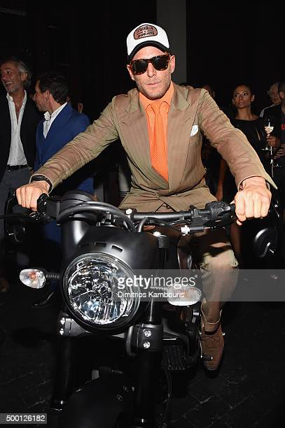 Lapo Elkann attends the Italia Independent X Ducati Celebration of The Launch Of The Scrambler Ducati at The Setai Miami Beach on December 5 2015 in...