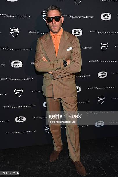 Lapo Elkann attends the Italia Independent X Ducati Celebration of The Launch Of The Scrambler Ducati at The Setai Miami Beach on December 5, 2015 in...
