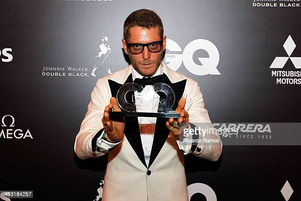 Lapo Elkann attends the Men Of The Year 2013 at Hotel Copacabana Palace on December 2, 2013 in Rio de Janeiro, Brazil.