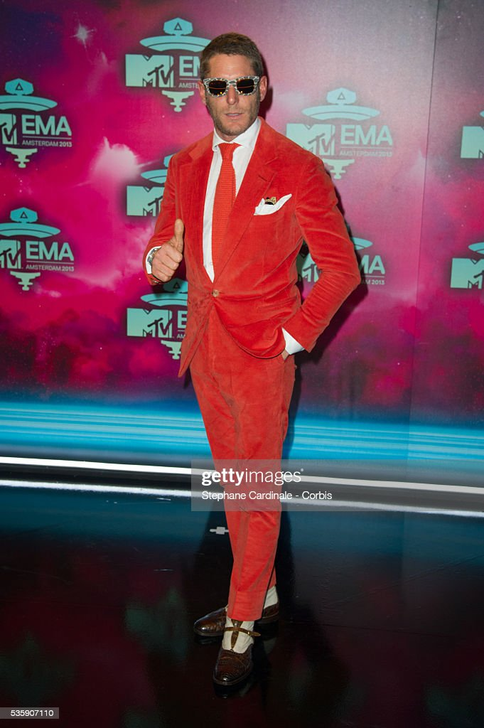 Lapo Elkann attends the MTV EMA's 2013 at the Ziggo Dome in Amsterdam, Netherlands.