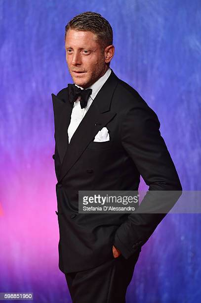 Lapo Elkann attends the premiere of 'Franca: Chaos And Creation' during the 73rd Venice Film Festival at Sala Giardino on September 2, 2016 in...