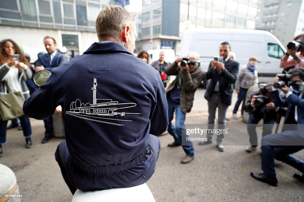 Italia Independent Group Chairman Lapo Elkann Interview : News Photo