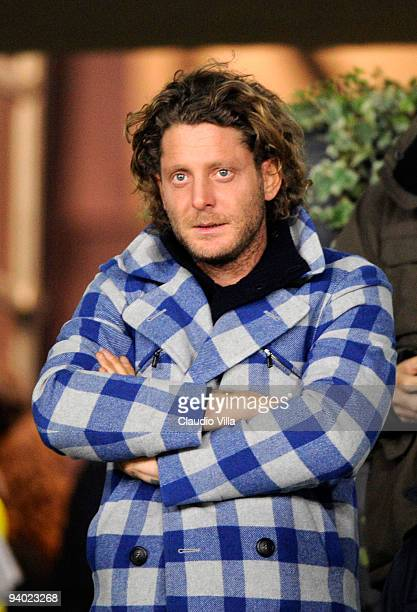 Lapo Elkann during the Serie A match between Juventus and Inter Milan at Stadio Olimpico on December 5, 2009 in Turin, Italy.