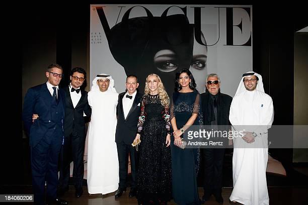 Lapo Elkann Vittorio Grigolo Emaar Properties Chairman Mohamed Alabbar Jonathan Newhouse Franca Sozzani Princess Ameera alTaweel Roberto Cavalli and...