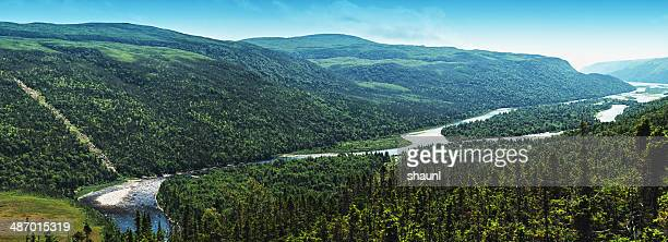 lapoile river - newfoundland and labrador stock pictures, royalty-free photos & images