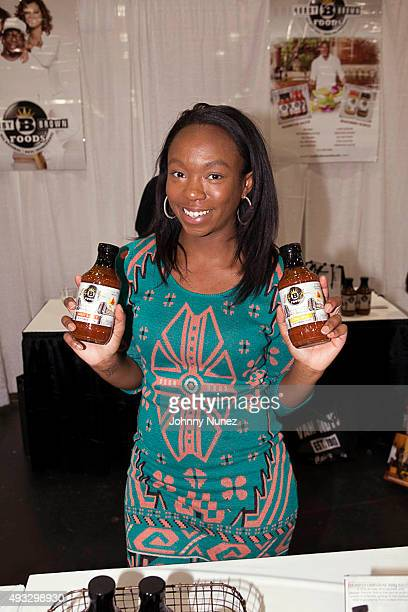 La'Princia Brown attends the 2015 Circle Of Sisters Expo at Jacob Javitz Center on October 18 in New York City