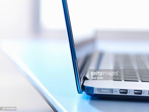 Laptop, close up
