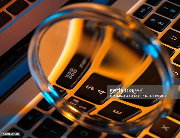 Laptop close-up