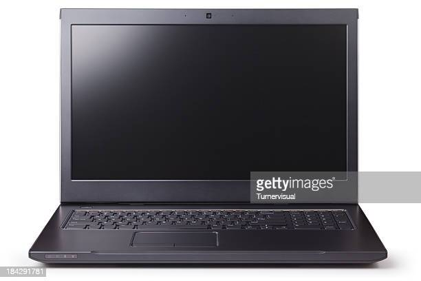 Laptop Computer Isolated + Clipping Paths