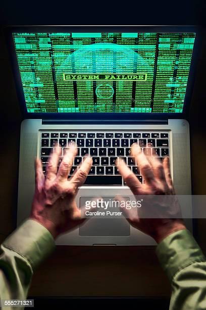 Laptop hack/crash