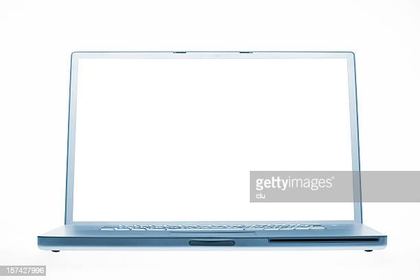 Laptop isolated with clipping paths