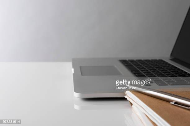 laptop. - finance and economy stock pictures, royalty-free photos & images