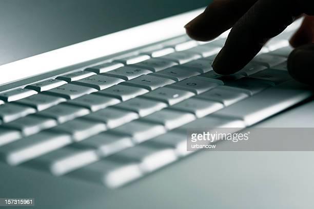 Laptop-Arbeitsbereich