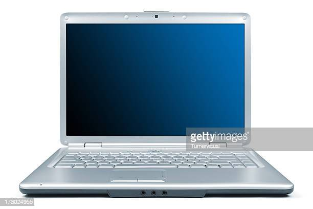 laptop xxl + clipping path - webcam stock photos and pictures