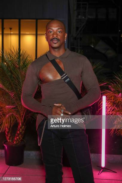 LaQuan Smith attends the LaQuan Smith Dinner during September 2020 - New York Fashion Week: The Shows at Spring Studios Terrace on September 16, 2020...
