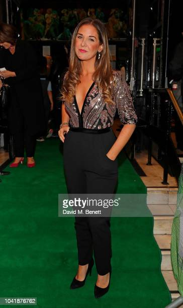 Lara Asprey arrives as hit musical Wicked celebrates 12 years at Apollo Victoria Theatre on September 27 2018 in London England