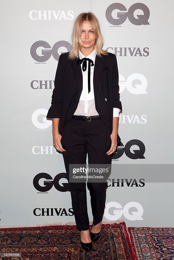 Lara Bingle arrives at the 2010 GQ Men of The Year Awards at the Sydney Opera House on November 30, 2010 in Sydney, Australia.