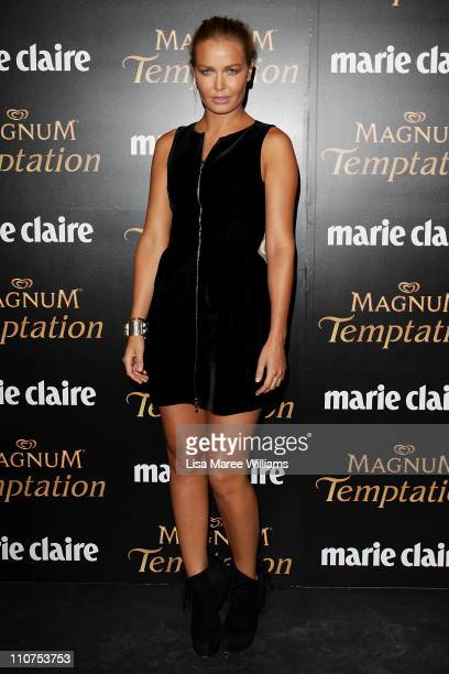 Lara Bingle arrives at the 2011 Prix De Marie Claire Awards at Fox Studios on March 24 2011 in Sydney Australia