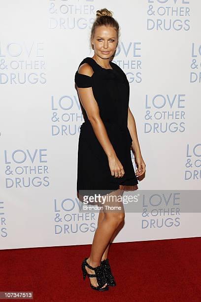 Lara Bingle attends the Sydney premiere of Love Other Drugs at Event Cinemas George Street on December 6 2010 in Sydney Australia