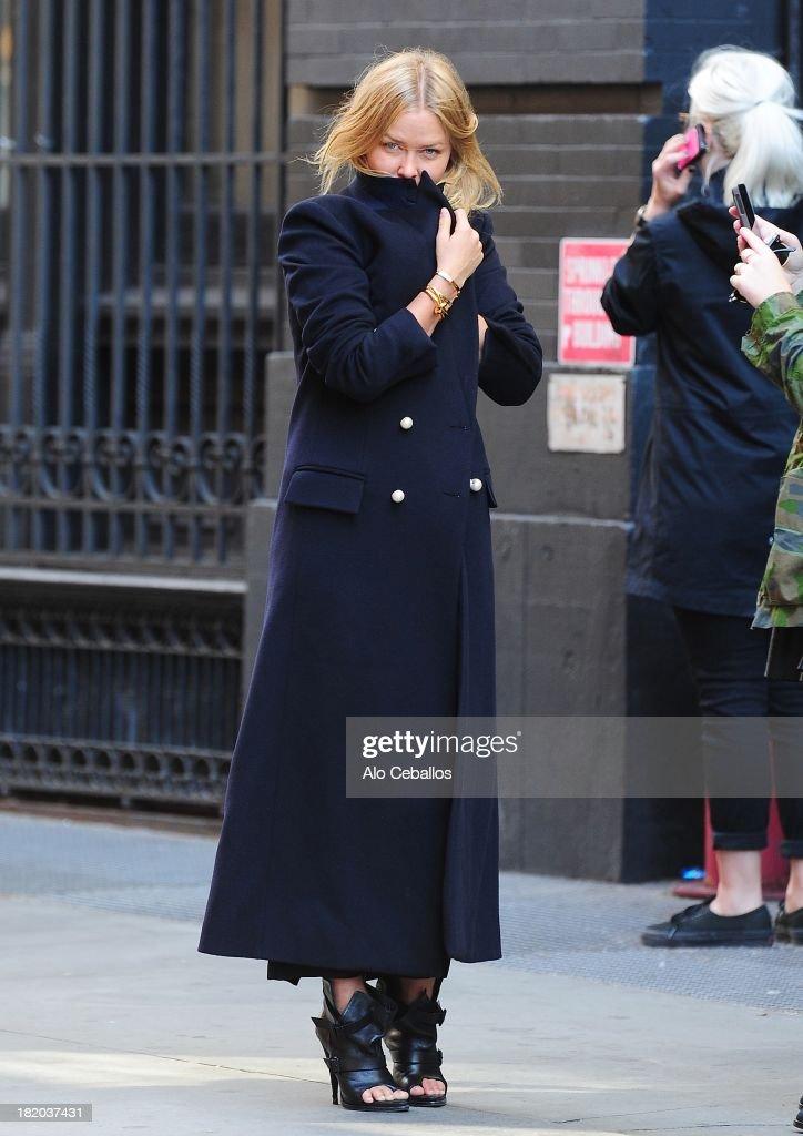 Celebrity Sightings In New York City - September 27, 2013