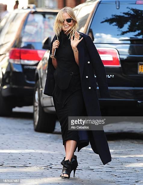 Lara Bingle is seen in Soho on September 27 2013 in New York City