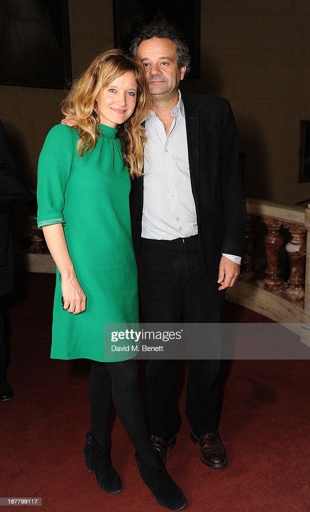 Lara Cazalet and Mark Hix attends an after party celebrating the press night performance of 'Perfect Nonsense' at the The Royal Horseguards on November 12, 2013 in London, England.