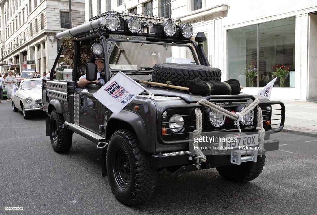 Car Parade In London News Photo