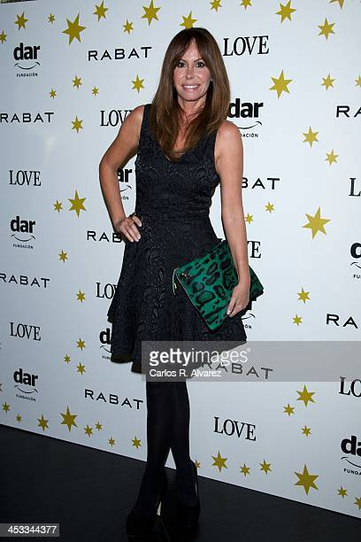 Lara Dibildos attends the 'Stars Charity' event at the Rabat Jewelry on December 3 2013 in Madrid Spain