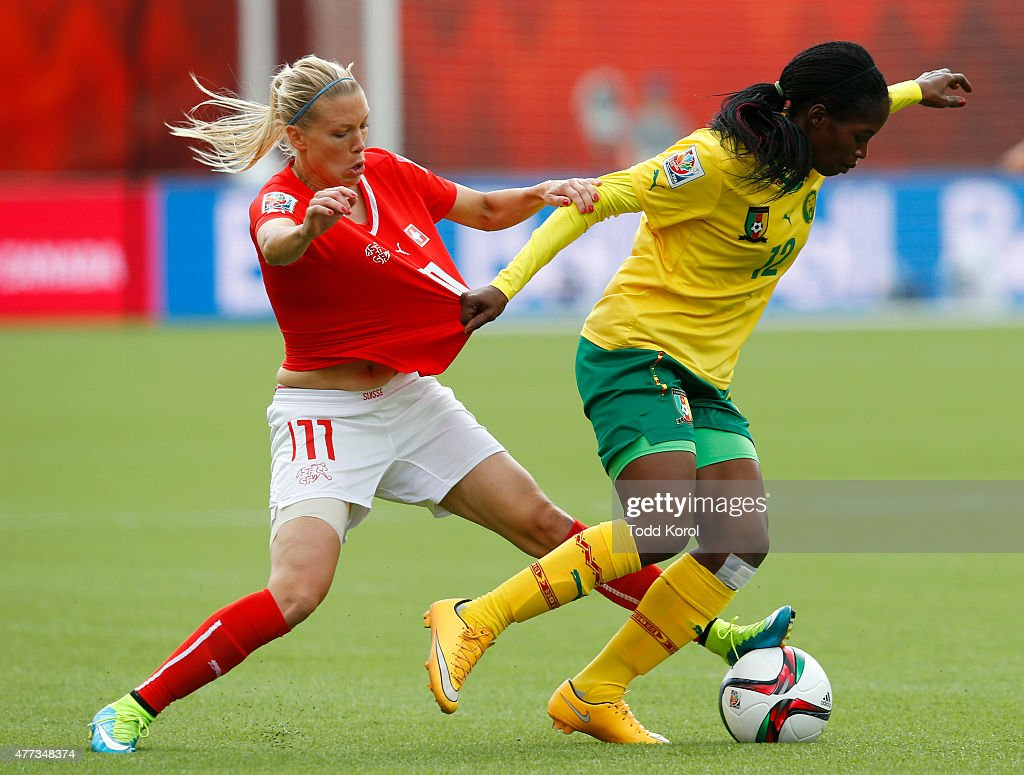 Switzerland v Cameroon: Group C - FIFA Women's World Cup 2015