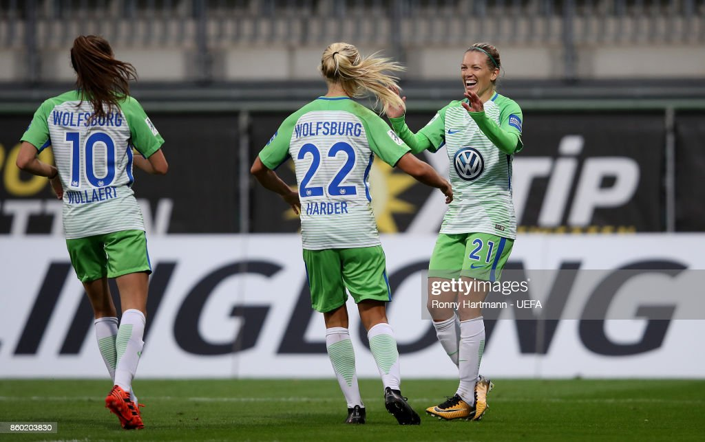 VFL Wolfsburg vs Atletico Madrid - UEFA Women's Champions League Round of 32: Second Leg