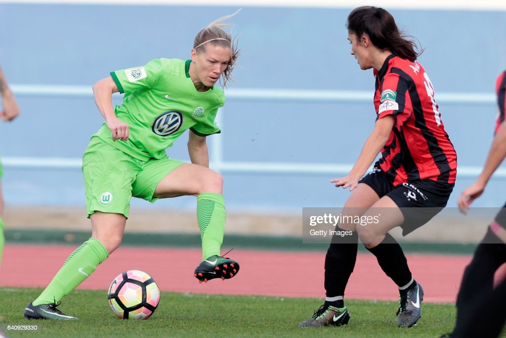VfL Wolfsburg Women's v SC Huelva Women's - Friendly Match