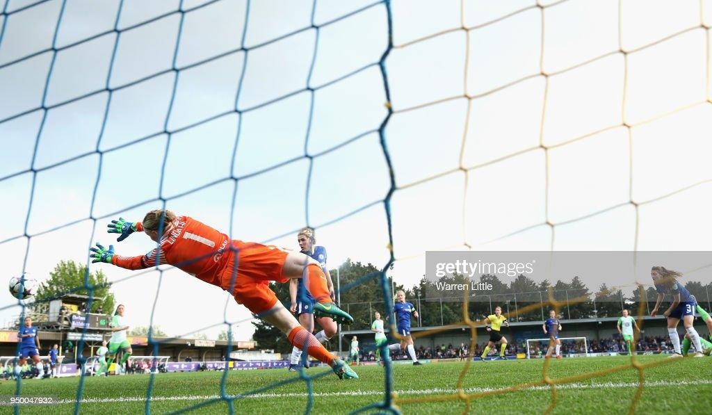 Chelsea Ladies v Wolfsburg - UEFA Womens Champions League Semi-Final: First Leg