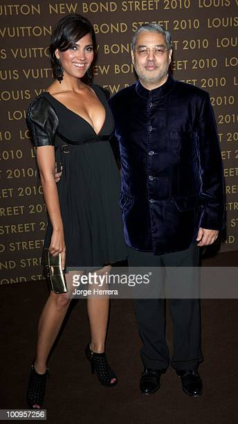 Lara Dutta and Tikka Singh Prince of Kapurthala attends the after party for the launch of the Louis Vuitton Bond Street Maison on May 25 2010 in...