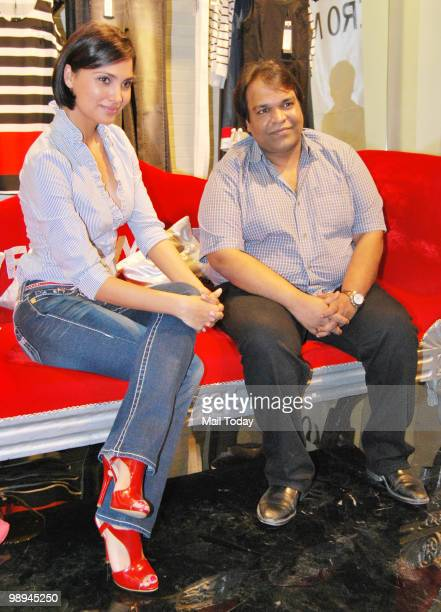 Lara Dutta at a launch event for the Italina brand Vera Moda a promotional event for the film Rajneeti in Mumbai on May 8 2010