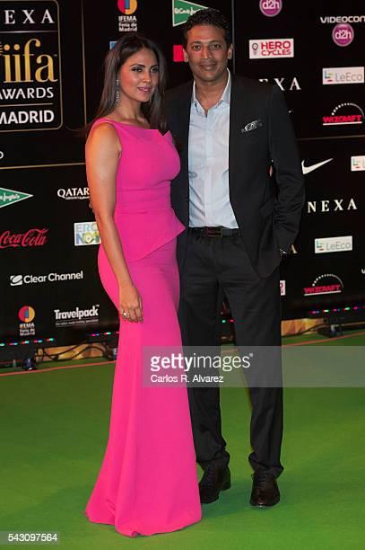 Lara Dutta attends the 17th IIFA Awards at Ifema on June 25 2016 in Madrid Spain