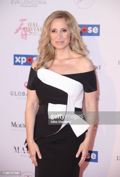 Lara Fabian attends the The Global Gift Initiative event during the 72nd annual Cannes Film Festival on May 20 2019 in Cannes France